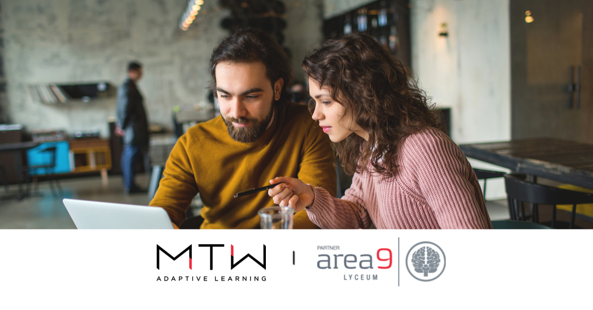 Area9 Lyceum and MTW Enter Partnership in Portugal; Area9 Rhapsode™ Platform Powers New MTW Adaptive Learning