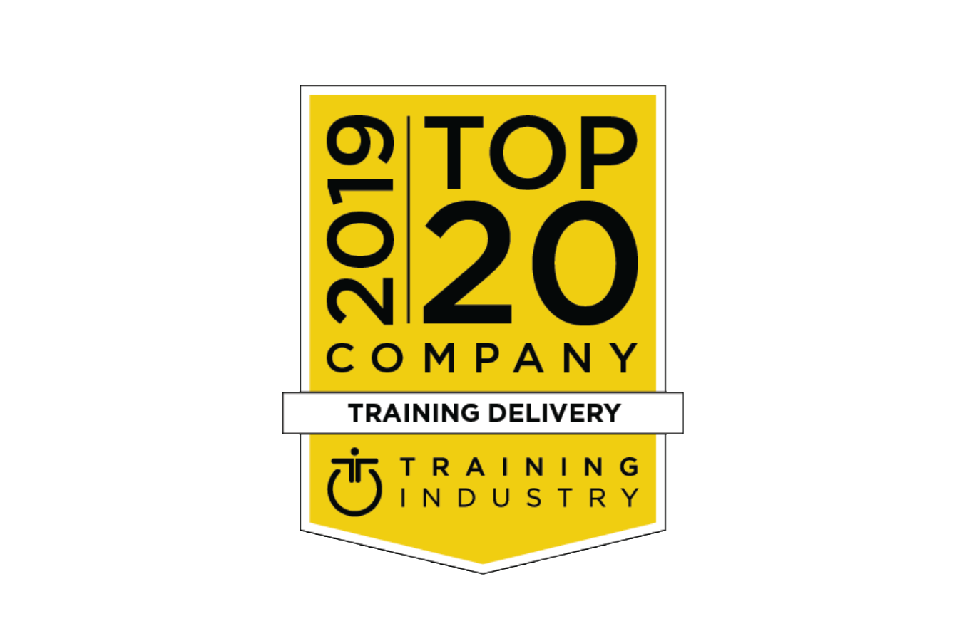 Area9 Lyceum Named to 2019 Training Industry Top 20 Training Delivery Companies List